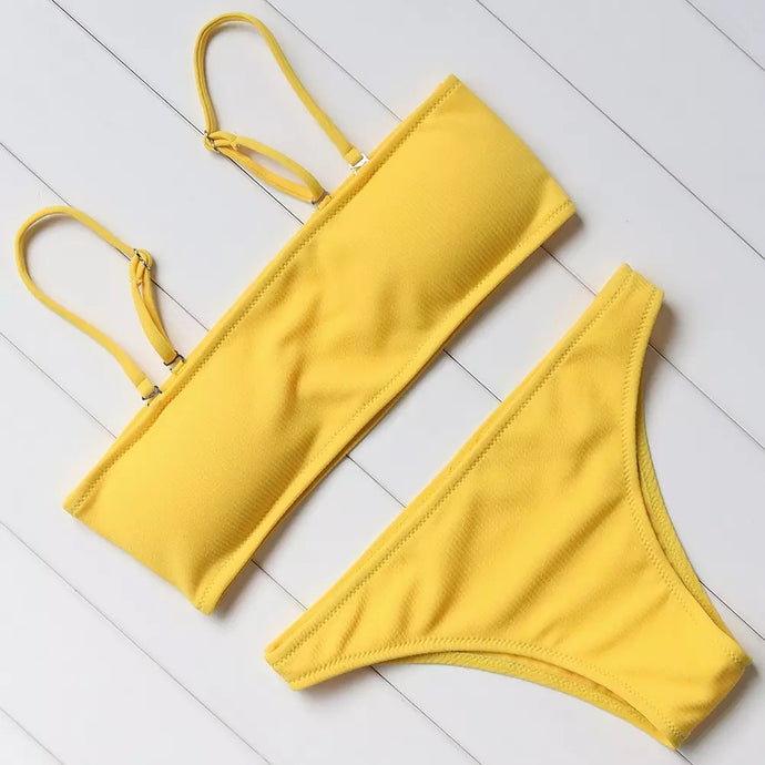 'Colour of the rainbow' bikini set - 6 colours