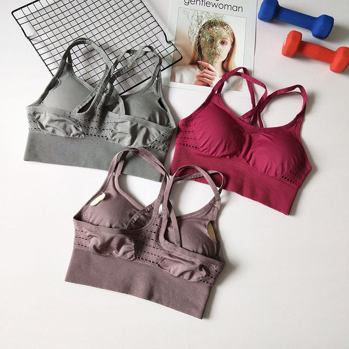 'Max performance' supportive sports bra