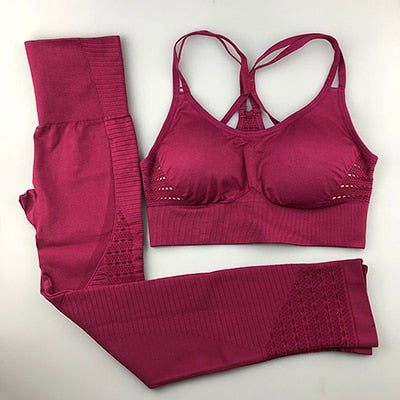 'Max performance' two piece matching compression set - 6 colours