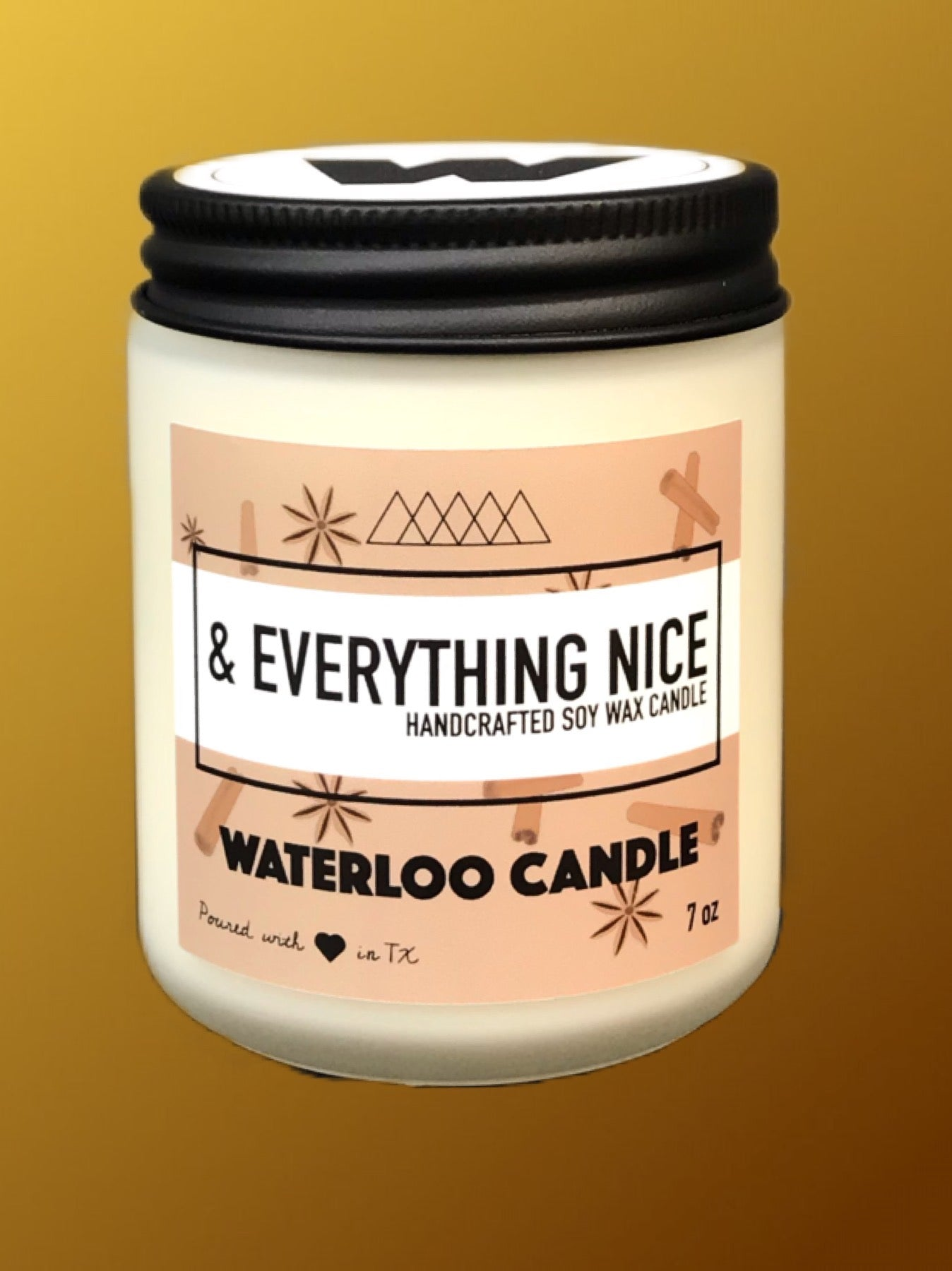 & Everything Nice 7oz Soy Wax Candle
