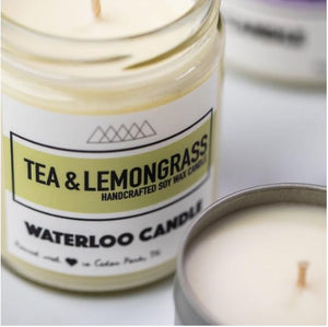 Tea & Lemongrass 7oz Soy Wax Candle