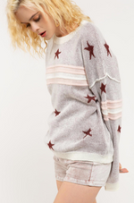 Stars and Stripes Knitted Sweater