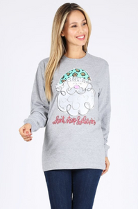 Don't Stop Believin' Long Sleeve-ALL SIZES!!