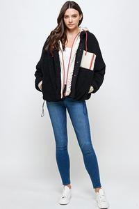 Black Sherpa Jacket