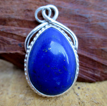 Load image into Gallery viewer, Lapis Lazuli Gemstone Pendant