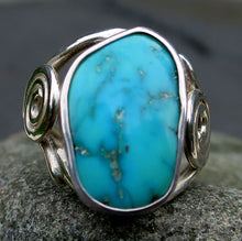 Load image into Gallery viewer, Sleeping Beauty Turquoise Gemstone Ring