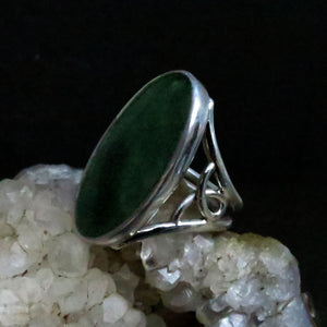 BC Jade Sterling Silver Ring