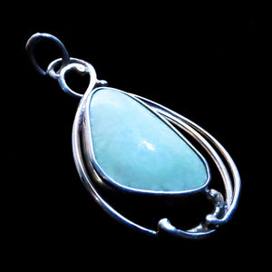 Handcrafted Lemon Chrysoprase Pendant