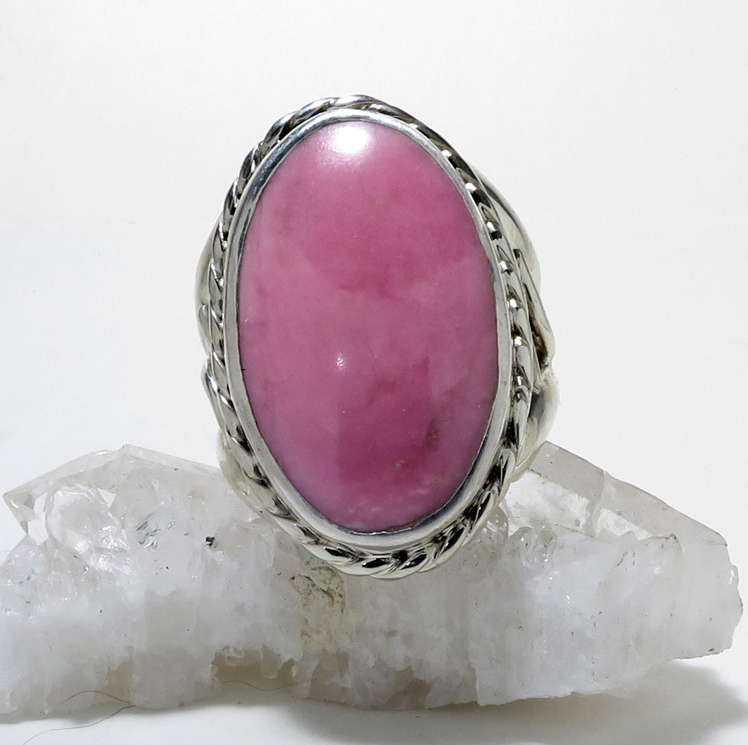 Rhodonite Gemstone Ring