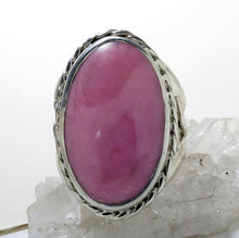 Load image into Gallery viewer, Rhodonite Gemstone Ring