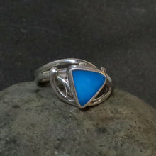 Load image into Gallery viewer, Natural Sleeping Beauty Turquoise Gemstone Ring