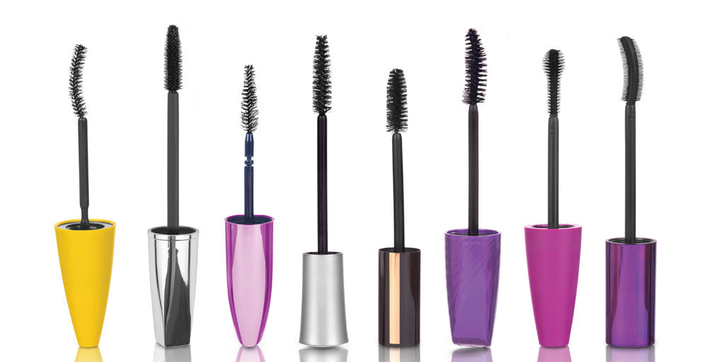 The difference between mascara brushes
