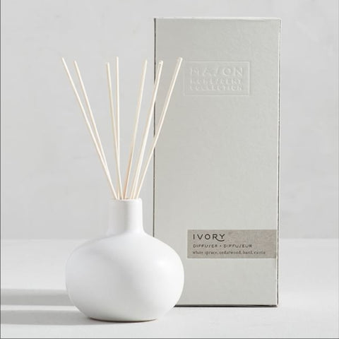 2020 Holiday Gift List: Mason Ceramic Reed Diffuser by Pottery Barn