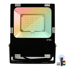 Load image into Gallery viewer, Outdoor Floodlight 30w LED Light Zigbee & RF RGBW and CCT Colours IP65