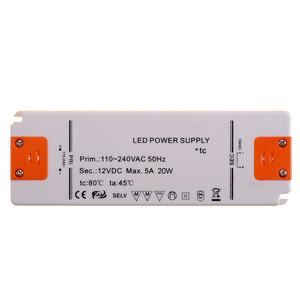 Ultraslim LED Driver Power Supply DC12v / 20w / 1.67A / AC200-240v