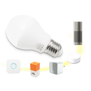 DreamColour E27 Colour Changing Smart Screw Cap LED Bulb 6w with Zigbee