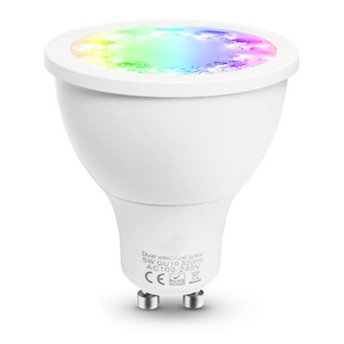 DreamColour GU10 Colour Changing Smart Spot Light LED Bulb 5w 120 Degree Lens