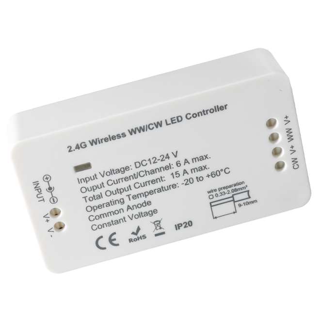 LED Strip Smart Controller - CCT Cold/Warm White Plus