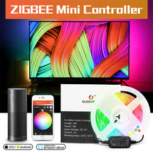 Load image into Gallery viewer, LED Strip & Mini Controller - RGB+CCT USB 5v Kit (TV's, Cupboards)