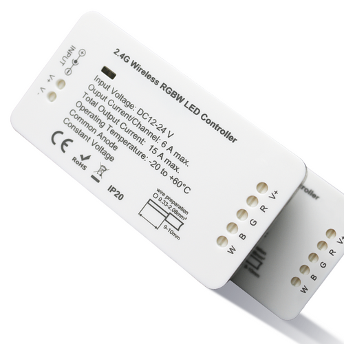 LED Strip Smart Controller - RGBW Colour Changing Zigbee & RF Plus
