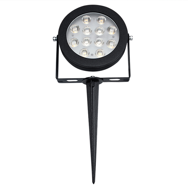 Garden Lamp Spike 12w LED Light Zigbee & RF Dual Tuneable White and Colour