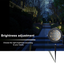 Load image into Gallery viewer, Garden Lamp Spike 12w LED Light Zigbee & RF Dual Tuneable White and Colour