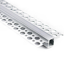 Load image into Gallery viewer, Plaster In Recessed LED Strip Aluminium Profile 10mm (2m)