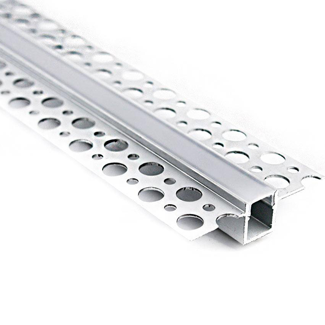 Plaster In Recessed LED Strip Aluminium Profile 10mm (2m)