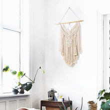 Load image into Gallery viewer, Bohemian Macrame Wall Hanging Tapestry