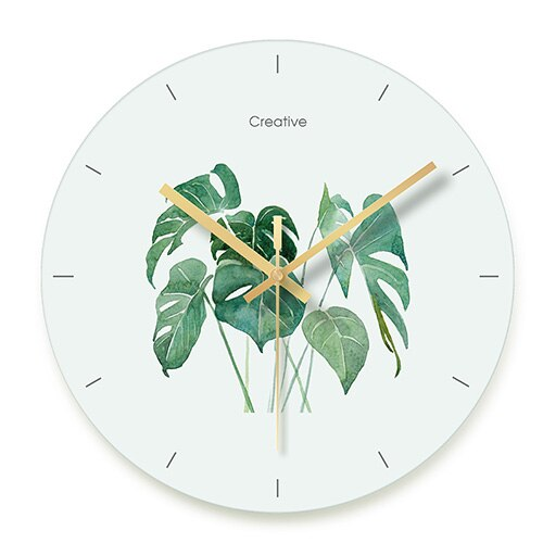 Watercolour Wall Clock 30.5cm