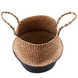 Natural Seagrass Rattan Basket