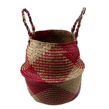 Load image into Gallery viewer, Natural Seagrass Rattan Basket