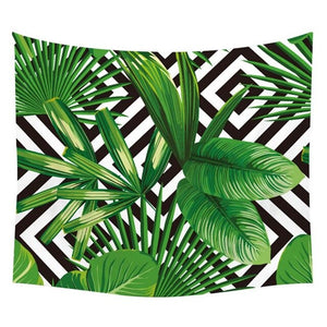 Light Throw Plant Design - Geometric Canopy