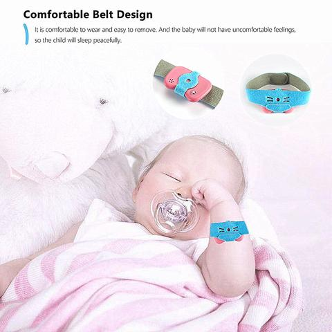 24HR Baby Child's Smart Wearable Digital Thermometer Detector