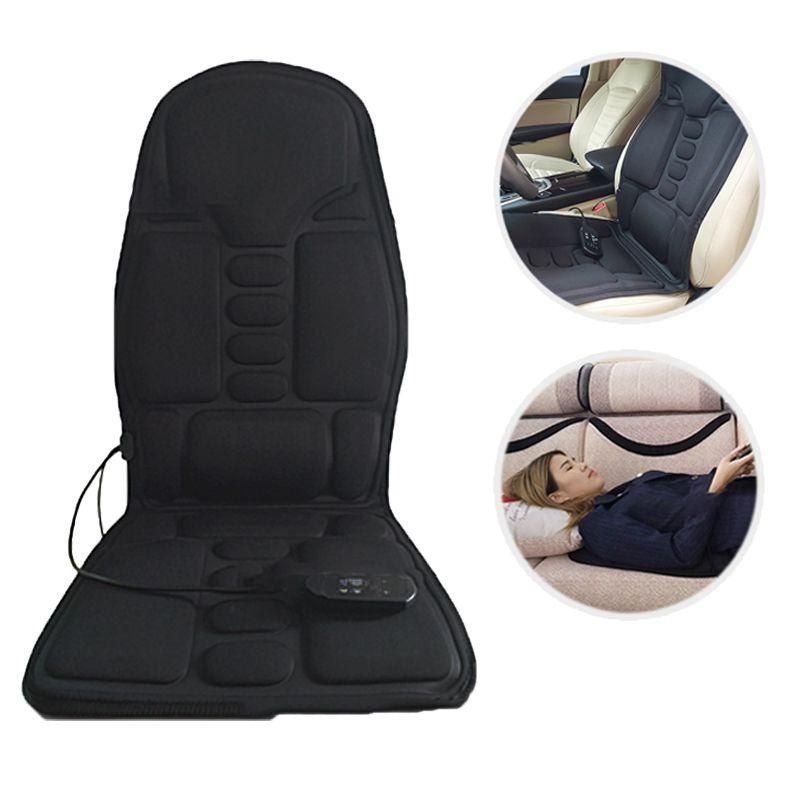 Seat Cushion For Back Pain >> Heating Pad With Auto Off For Back Pain Car Massage Heated Seat Cushion Back Neck Pain Lumbar Pad Massager Vibration 12v