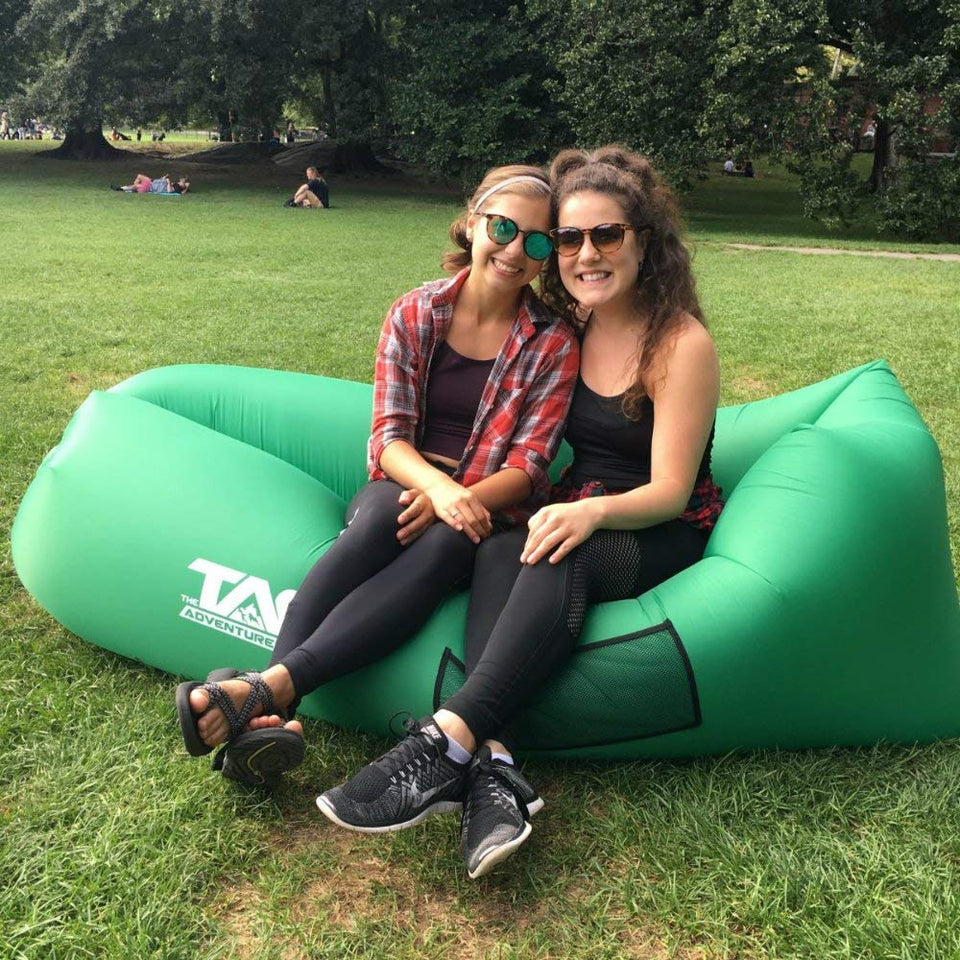 Astonishing Ultralight Inflatable Lazy Sofa With Pillow Beach Chair For Pabps2019 Chair Design Images Pabps2019Com