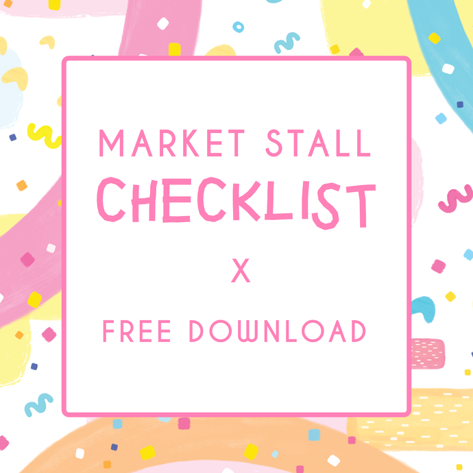 Market Stall Checklist | FREE download!
