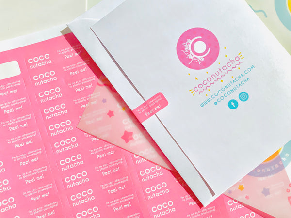 removable, non residue stickers for greeting cards and envelopes