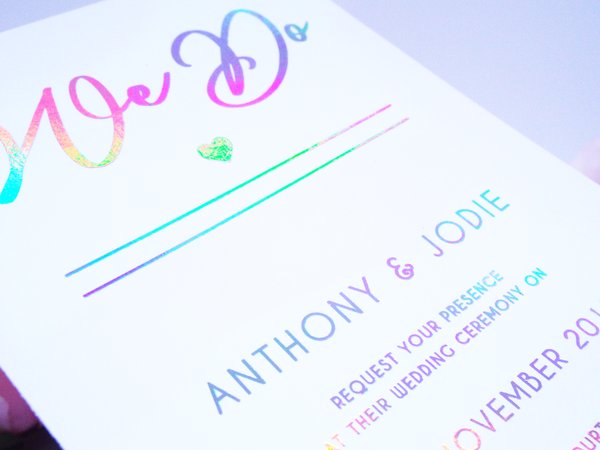 holographic invitation