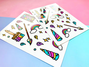 Make Magic Stickers