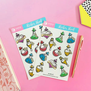 Magical Potions Stickers