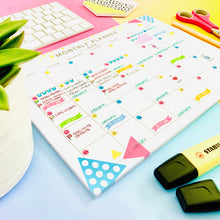 Load image into Gallery viewer, Colourful Desk Calendar