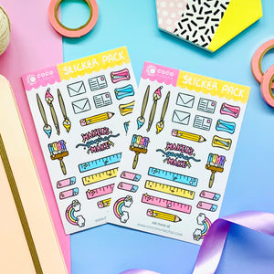 maker sticker pack