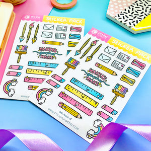 creative planner stickers