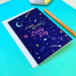 Have a Lovely Day Greeting Card