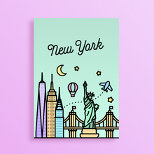 Load image into Gallery viewer, New York Skyline Art Print