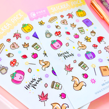 Load image into Gallery viewer, Autumn Magic Sticker Set