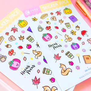 Autumn Magic Sticker Set