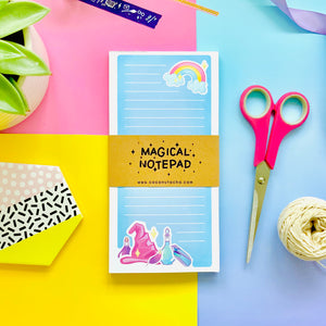 Blue Magical Notepad