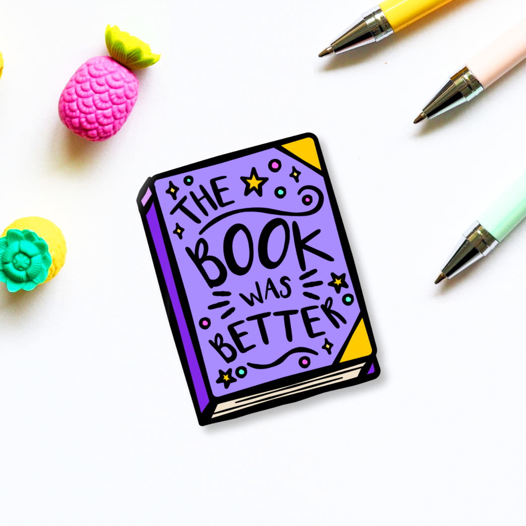 Book Lover Sticker